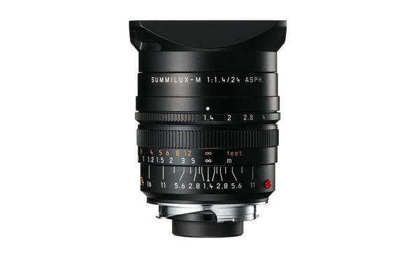 LEICA SUMMILUX-M 24 f/1.4 ASPH., black anodized finish